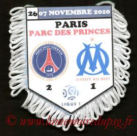 Fanion  PSG-Marseille  2010-11