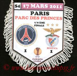 Fanion  PSG-Benfica  2010-11