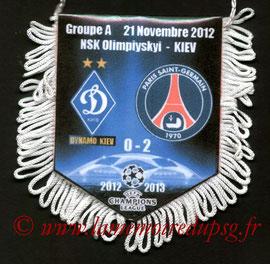 Fanion  Dynamo Kiev-PSG  2012-13