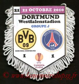 Fanion  Borussia Dortmund-PSG  2010-11