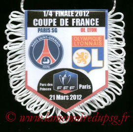 Fanion  PSG-Lyon  2011-12