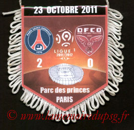 Fanion  PSG-Dijon  2011-12