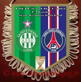 Fanion  Saint Etienne-PSG  2012-13