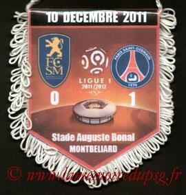 Fanion  Sochaux-PSG  2011-12