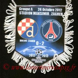 Fanion  Dinamo Zagreb-PSG  2012-13