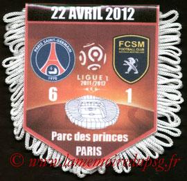 Fanion  PSG-Sochaux  2011-12
