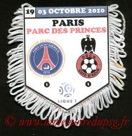 Fanion  PSG-Nice  2010-11