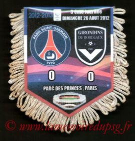 Fanion  PSG-Bordeaux  2012-13