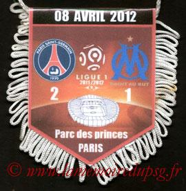 Fanion  PSG-Marseille  2011-12