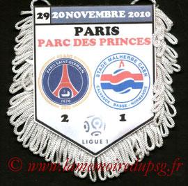 Fanion  PSG-Caen  2010-11