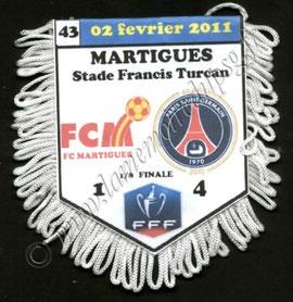 N°43 - Martigues-PSG