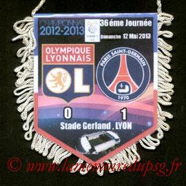 Fanion  Lyon-PSG  2012-13