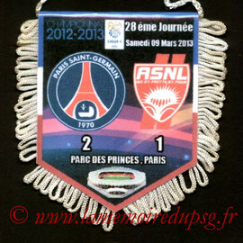 Fanion  PSG-Nancy  2012-13