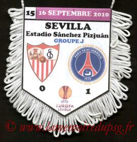 Fanion  FC Séville-PSG  2010-11