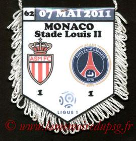 Fanion  Monaco-PSG  2010-11