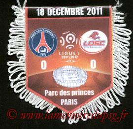 Fanion  PSG-Lille  2011-12