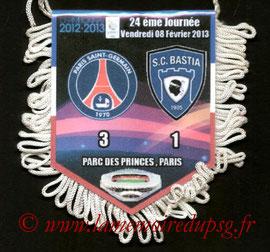 Fanion  PSG-Bastia  2012-13