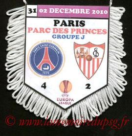 Fanion  PSG-FC Séville  2010-11