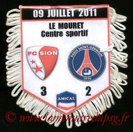 Fanion  FC Sion-PSG  2011-12