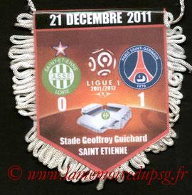 Fanion  Saint-Etienne-PSG  2011-12