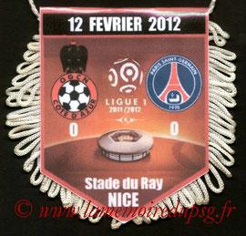 Fanion  Nice-PSG  2011-12