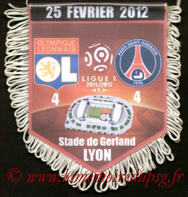 Fanion  Lyon-PSG  2011-12