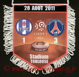 Fanion  Toulouse-PSG  2011-12