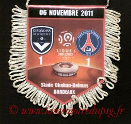 Fanion  Bordeaux-PSG  2011-12