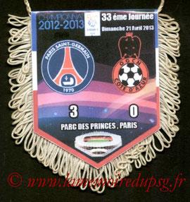 Fanion  PSG-Nice  2012-13