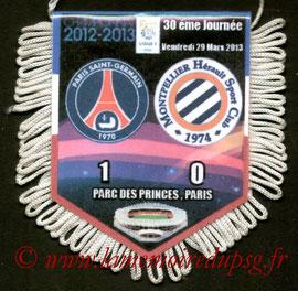 Fanion  PSG-Montpellier  2012-13
