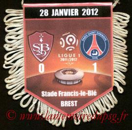 Fanion  Brest-PSG  2011-12