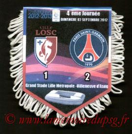 Fanion  Lille-PSG  2012-13