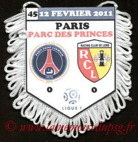 Fanion PSG-Lens