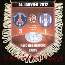 Fanion  PSG-Toulouse  2011-12