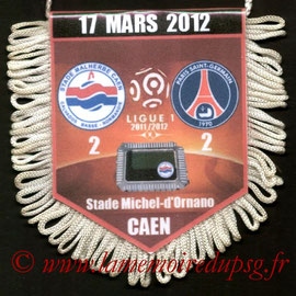 Fanion  Caen-PSG  2011-12