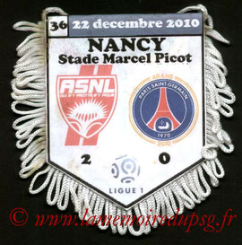 Fanion  Nancy-PSG  2010-11