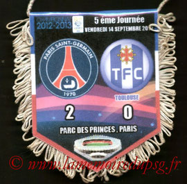 Fanion  PSG-Toulouse  2012-13