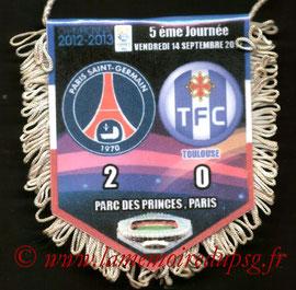 Fanion  PSG-Toulouse  2012-13