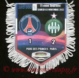 Fanion  PSG-Saint Etienne  2012-13