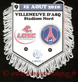 Fanion  Lille-PSG  2010-11