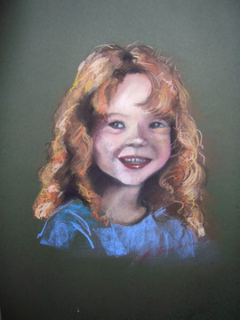Kinderportrait Pastellkreide Fr. 300.-