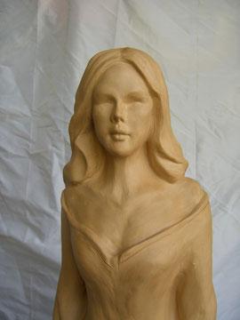 Statue 80 cm gegossen. Preis je nach Material ab Fr. 200.-