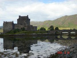 Einean Dolan Castle in Skye island