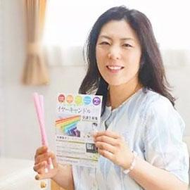 日本イヤーキャンドル協会理事 安部紀江