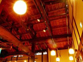 木組み天井