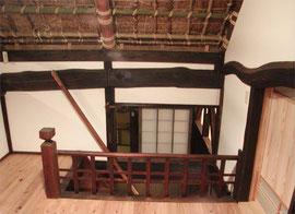 2階小屋裏寝室入り口