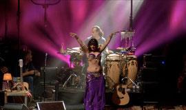 Bauchtänzerin Leela beim BAP Konzert 2014 (Foto: Carsten Klick)