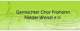 """Gemischter Chor """"Frohsinn"""" Nieder-Weisel e.V."""