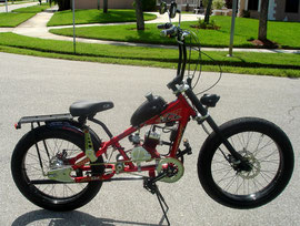 """PEDALCHOPPER EDITION: 24"""" inch Front & Rear Wheel """"KITS"""", 3 speed transmission, Engine Performance Upgrades, etc."""