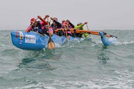 baie de somme canoe kayak  sur le vendee va'a